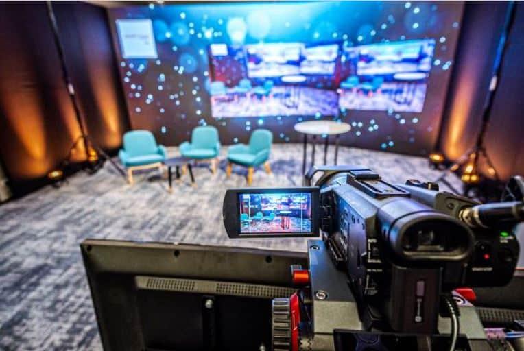 online event studio Brno